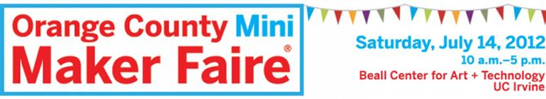 Banner Logo for Orange County Mini Maker Faire