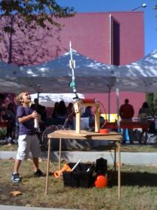 Rocket Launching Beall Family Day Nov 2011