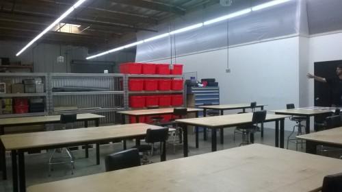 Classroom/work space Urban Workshop
