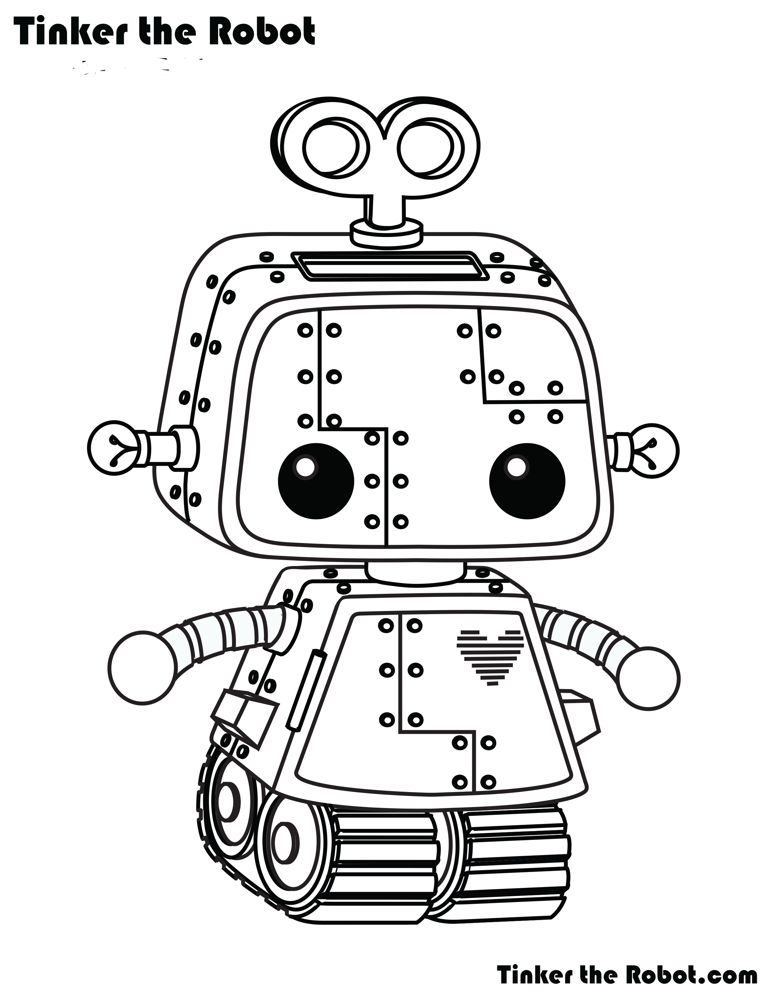 tinker the robot